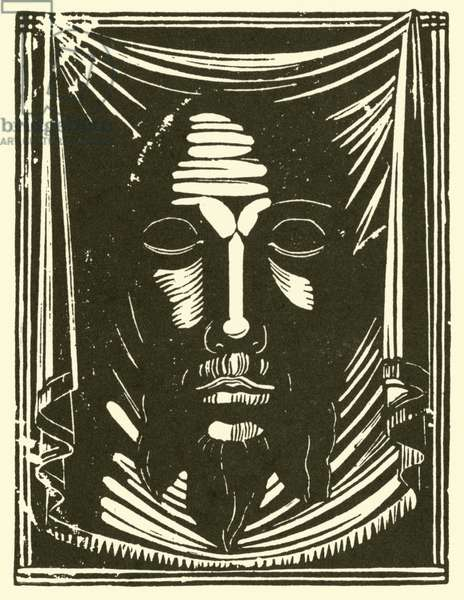 The Holy Face, 1917 (litho)