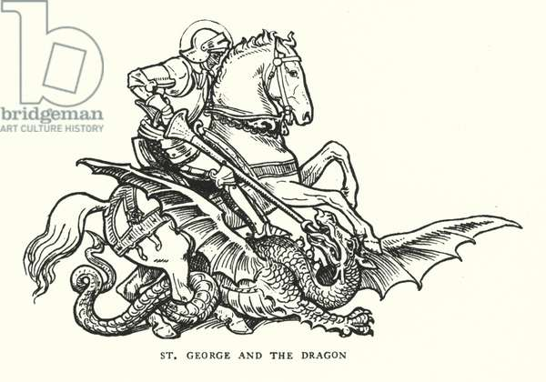 St George and the Dragon (engraving)