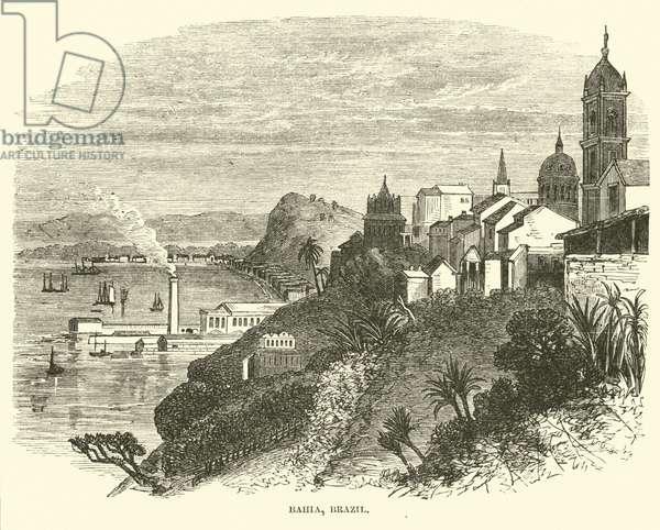 Bahia, Brazil, July 1862 (engraving)
