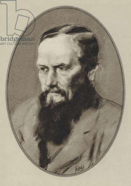 Feodor Mikhail Dostoyevsky (litho)