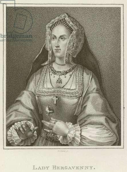 Lady Bergavenny (engraving)