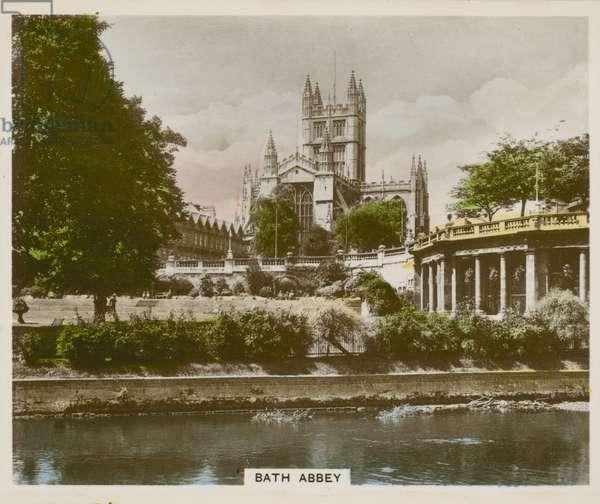 Bath Abbey (coloured photo)