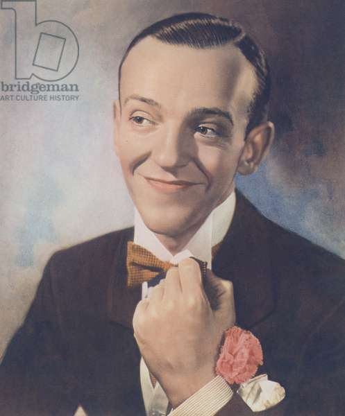Fred Astaire (colour litho)