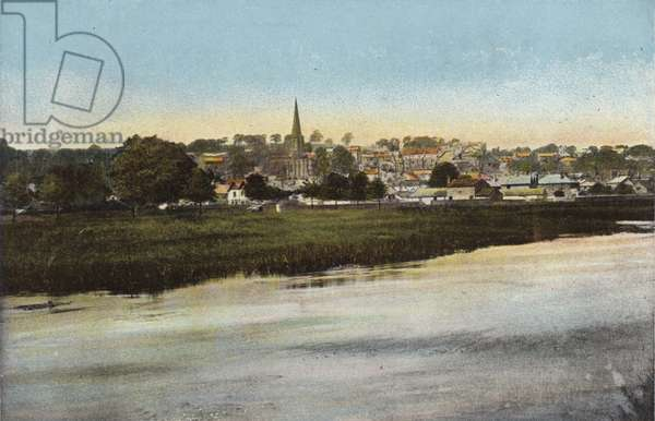 Bakewell, General View from River (photo)