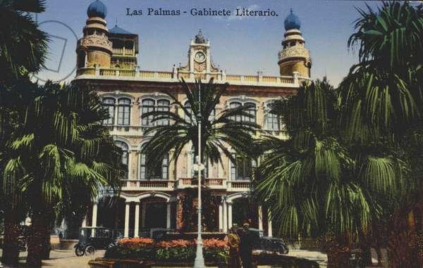 Gabinete Literario, Las Palmas, Gran Canaria, Canary Islands (colour photo)