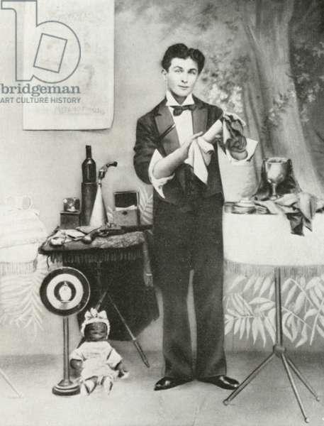 Harry Houdini, c 1893 (engraving)