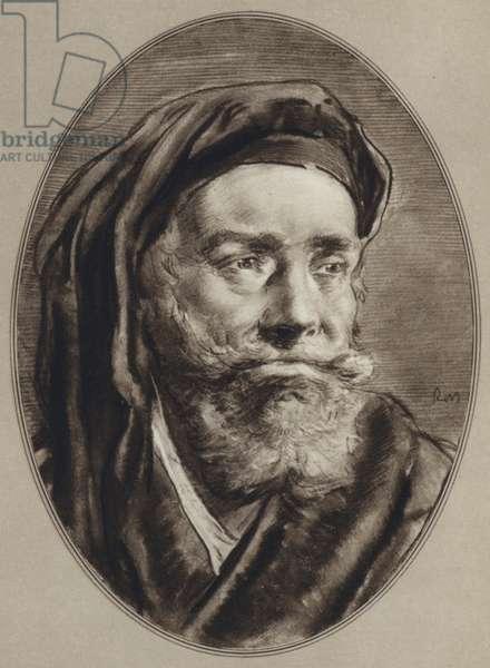 Portraits of Famous Men: Marco Polo (litho)