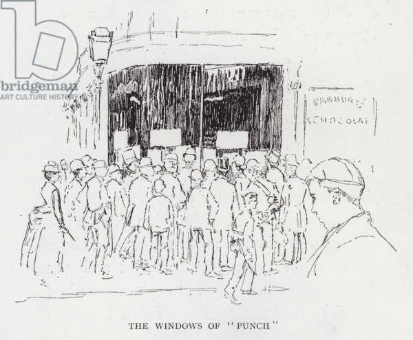"The Windows of ""Punch"" (litho)"