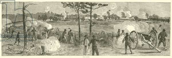 Cold Harbor, June 1864 (engraving)