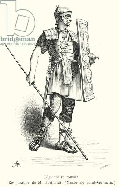 Legionnaire romain (engraving)