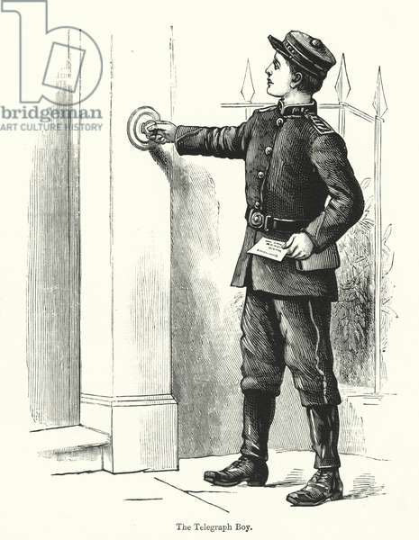 The Telegraph Boy (engraving)