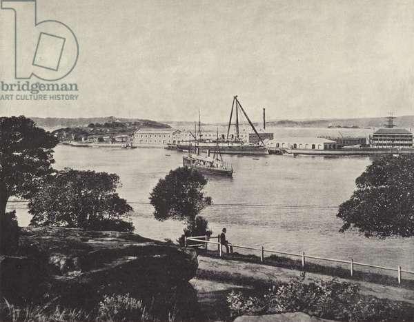 Gargen Island (b/w photo)