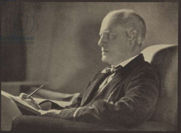 John Galsworthy (b/w photo)