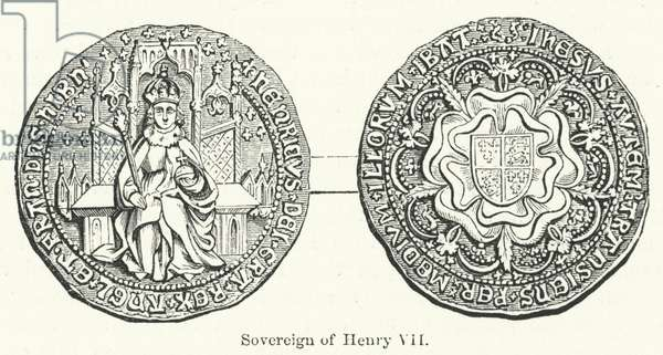 Sovereign of Henry VII (engraving)