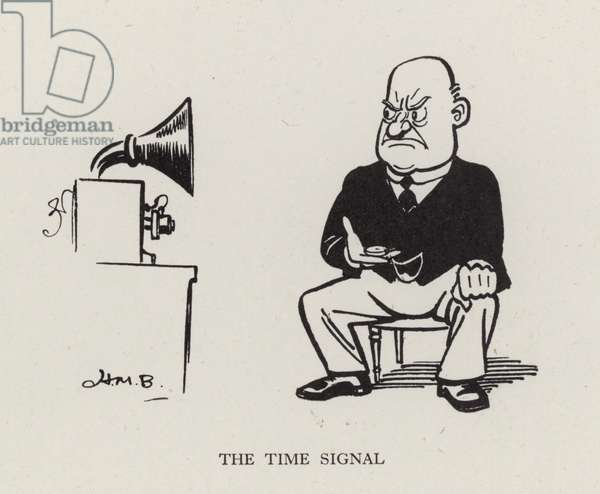 The Time Signal (litho)