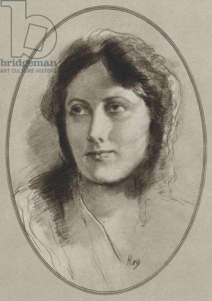 Isadora Duncan (litho)