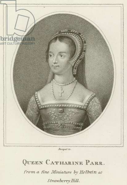 Queen Catharine Parr (engraving)