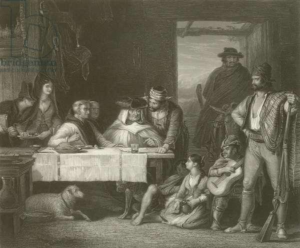 A Guerilla Council of War (engraving)