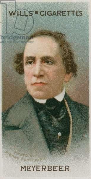 Giacomo Meyerbeer (chromolitho)
