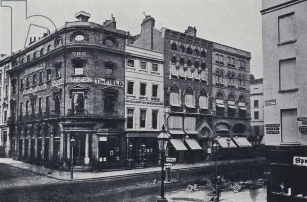 The Old Gaiety Theatre, Strand (b/w photo)