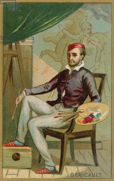 Theodore Gericault (chromolitho)