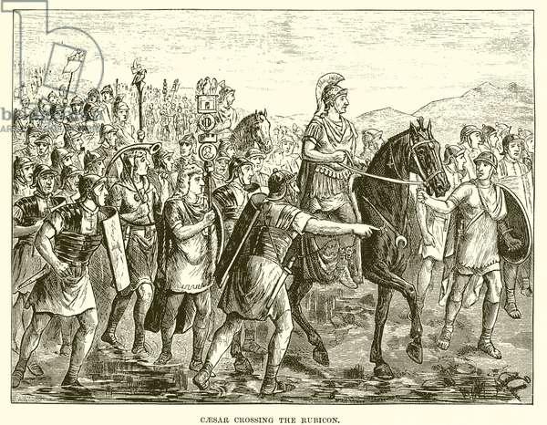 Caesar crossing the Rubicon (engraving)