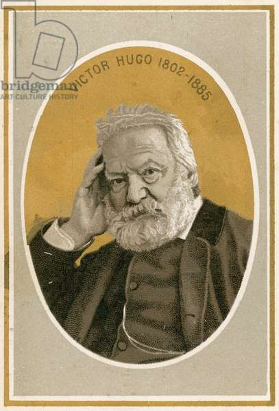 Victor Hugo (colour litho)