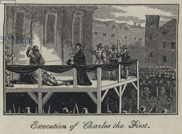 Execution of Charles the First (engraving)