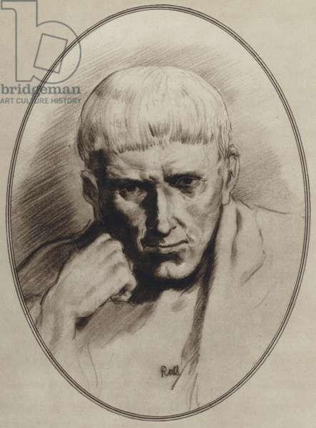 Portraits of Great Philosophers: Aristotle (litho)