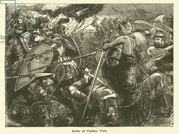 Battle Of Flodden Field (engraving)