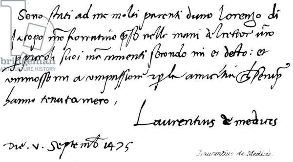 Laurentius de Medicis (engraving)