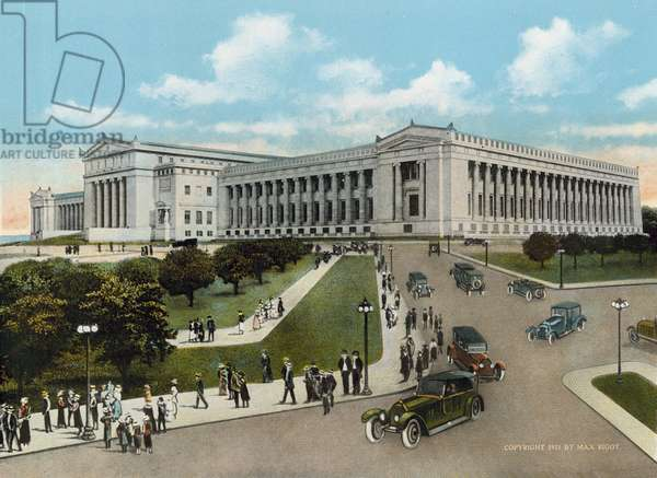 The Field Museum of Natural History (coloured photo)