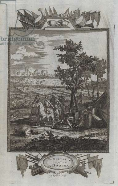 The Battle of Newbury (engraving)