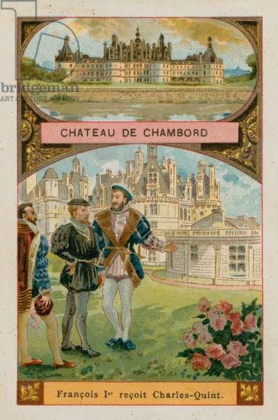 Chateau de Chambord (chromolitho)
