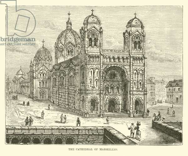 The Cathedral of Marseilles (engraving)