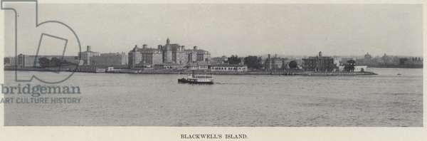 Blackwell's Island (b/w photo)