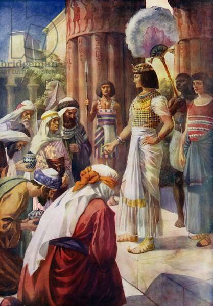 Joseph And His Brothers (colour litho)
