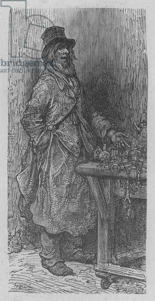 Le Marchand De Serrures (engraving)