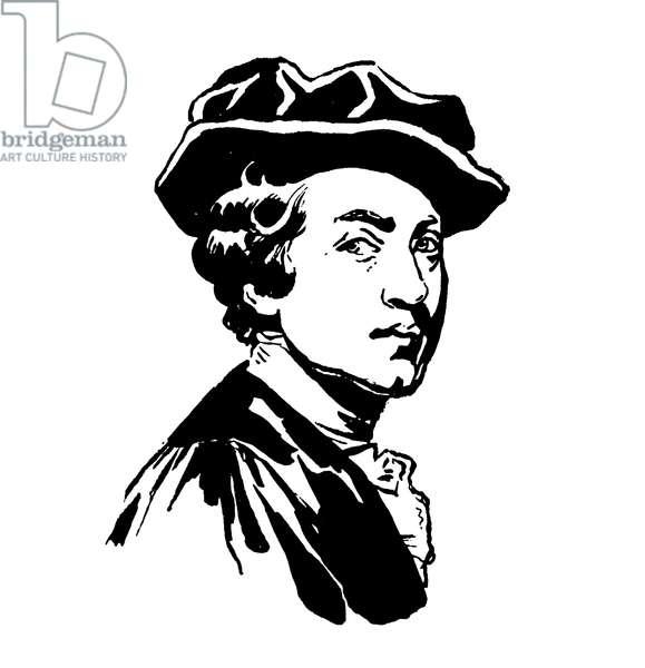 Sir Joshua Reynolds (litho)