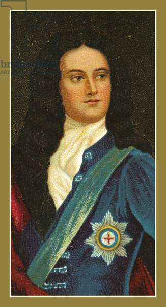 John Churchill, first Duke of Marlborough, KG, by Sir Godfrey Kneller (colour litho)