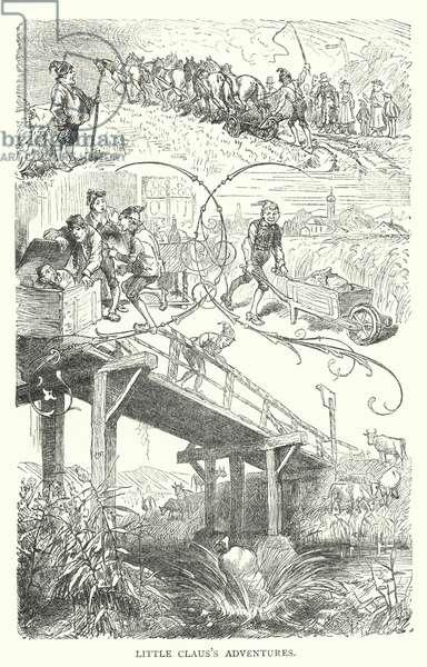 Little Claus's Adventures (engraving)