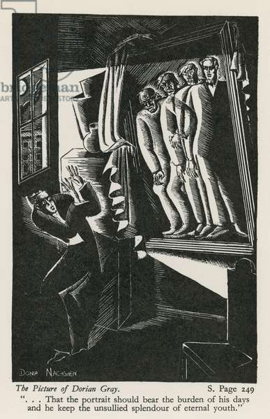 The Picture of Dorian Gray (woodblock)