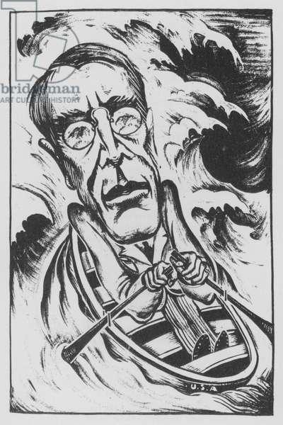 Woodrow Wilson (litho)
