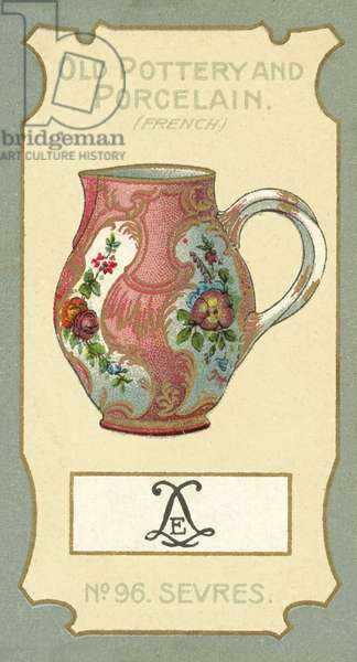 Old Pottery and Porcelain, Sevres (chromolitho)