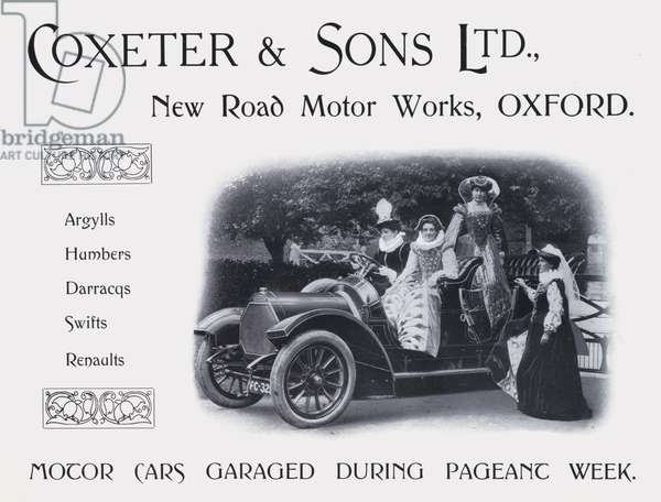 Advertisement, 1907 (litho)