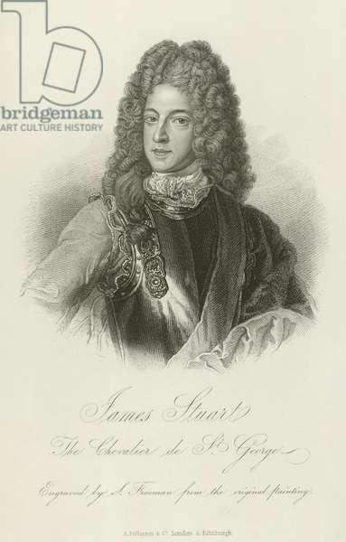 James Stuart, the Old Pretender (engraving)