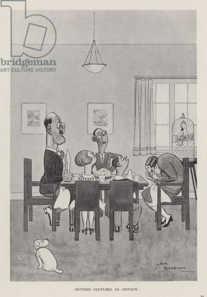 Mother Ventures an Opinion (litho)