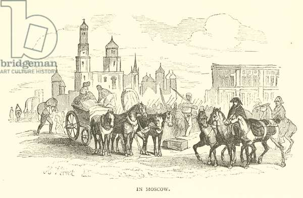 In Moscow (engraving)