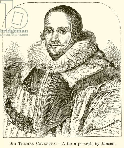 Sir Thomas Coventry (engraving)