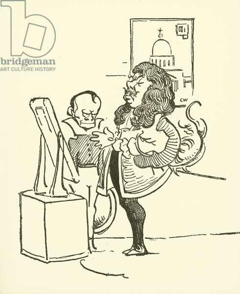 Sir Christopher Wren (litho)